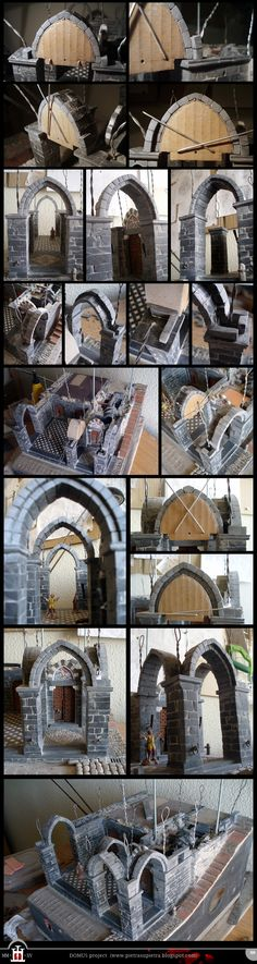 Domus project 129: Stone pointed arches (2)