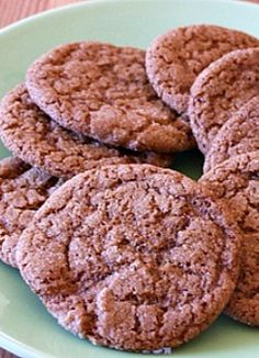 Chewy Molasses Spice Cookies | Recipe Girl