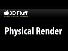A quick run down on when to use the physical render engine in CINEMA 4D and how to get the best quality and speed from it. More videos here: http://www.3dflu...