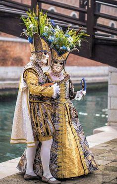 Costumes from Carnival, Venice, Venetian Costumes, Venice Carnival Costumes, Venetian Carnival Masks, Mardi Gras Carnival, Carnival Of Venice, Venice Carnivale, Venice Mask, Costume Carnaval, Jester Costume