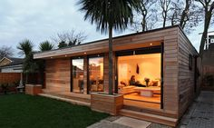 Modern and Eco-friendly Garden Office - An Ideal Solution to Working from Home