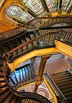 Queen Victoria Building, Sydney: an amazing building that I photographed when I went there and then lost all my pix.
