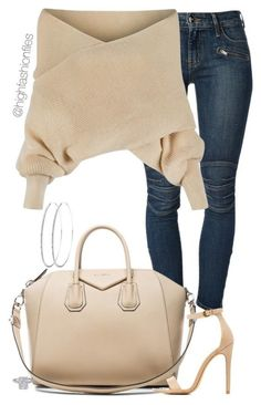 """""""Day Time Style"""" ❤ featuring Koral, WithChic, Givenchy and Charlotte Russe Cute Casual Outfits, Stylish Outfits, Fall Outfits, Look Fashion, Fashion Outfits, Womens Fashion, Funny Fashion, Fashion Trends, Bluse Outfit"""