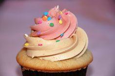 Peanut Butter and Jelly Cupcake from Trophy Cupcakes.