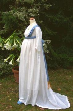 1800 mitscharpebauch - 19th century maternity style.jpg