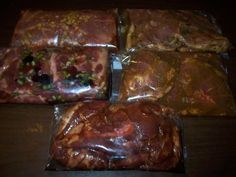 Pork Marinade Recipes for freezing and BBQing