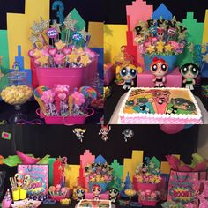 PowerPuff Girls Party *Etsy account coming soon