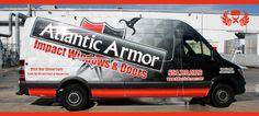 Window & Door Installation Company Sprinter Van Vehicle Wrap Davie Florida