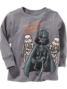 """Star Wars&#153 """"Trick or Treat With My Troopers"""" Tees for Baby Product Image"""