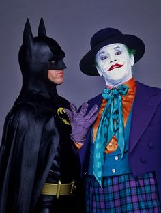 DC Comics in film n°8 - 1989 - Batman - Jack Nicholson as The Joker & Michael Keaton as Batman