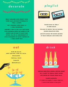 Love this Cinco de Mayo party guide, courtesy of Kate Spade!