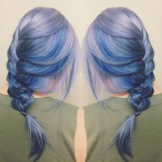 Moonstone Hair Is About to Be the Next Big Rainbow Hair Trend | Brit + Co