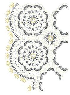 Disfruta tejiendo para tu hogar hermoso camino de mesa y centros decorativos
