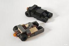 The World's Best Photos of lego and thedarkknightrises Legos, Lego Lego, Lego Van, Lego Batmobile, Micro Lego, Lego Ship, Lego Room, Lego Batman Movie, Mini Craft