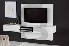 Mueble Panel Lcd / Tv / Led - Modular - Mesa De Tv Flotante