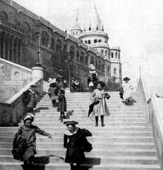 Fisherman Bastion Budapest 1906 Budapest Hungary, Old Photos, Austria, The Past, Landscapes, Louvre, Times, History, Travel