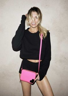Love this one of Abbey, for Katie Grand for Hogan