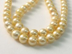 Gold South Sea Pearls Cultured Natural Pearls by gemsforjewels