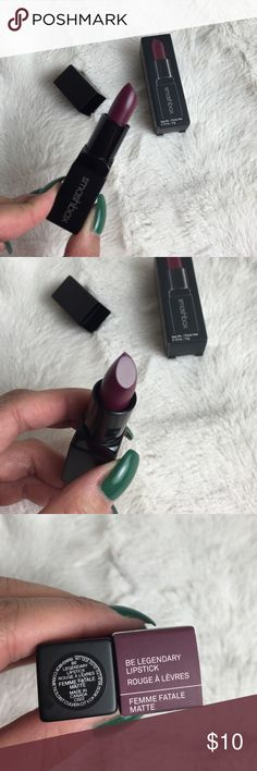 BNIB SMASHBOX BE LEGENDARY LIPSTICK FEMME FATALE Brand new in box. Matte lipstick. Authentic as always. Smashbox Makeup Lipstick