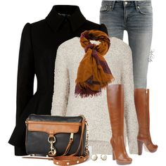 Oversized Sweater, created by pinkroseten on Polyvore