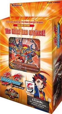 Future Card Buddyfight Buddy Fight TCG English BFE-TD01 DOMINANT DRAGONS Starter Trial Deck - 52 cards for only $18.71 You save: $6.08 (25%)
