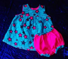 Bright Baby Dress set by EsDes Handmade