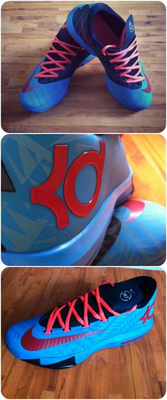 Release Report: This Saturday two Nike collections are coming together, bringing you the KD VI N7. #Basketball #Shoes