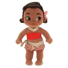 Disney Animators' Collection Moana Plush Doll - Small - 12 Inches: With her bold print sarong and a pretty flower in her hair, little plush Moana is set to sail on a great playtime adventure. Inspired by our Disney Animators' Collection toddler dolls. Reborn Toddler Girl, Toddler Dolls, Baby Dolls, Toddler Play, Baby Play, Ooak Dolls, Plush Dolls, Doll Toys, Moana Disney