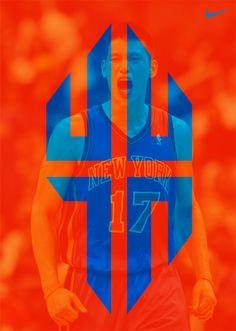 Jeremy Lin logo by AJ Dimarucot, via Behance