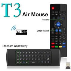 Wholesale prices US $10.92  Newest Fly Air Mouse & Wireless Mini Keyboard with Mic & Remote Control T3 for Android TV Box Media Player Better Than MX3 X8  Get here: DVR