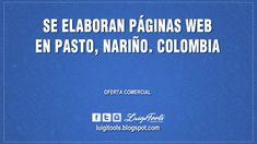 Luigi Tools: Se Elaboran Páginas Web en Pasto, Nariño. Colombia...