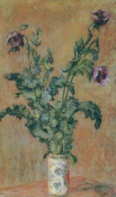 Vase of Poppies, Claude Monet 1883