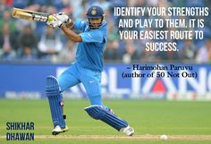 50 Not Out #Quote by Harimohan Paruvu #Cricket #Motivation #Book