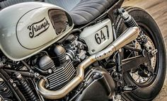 caferacerbursa: Robby's T100 by Down & Out Cafe Racers #motorcycles #bratstyle #motos |