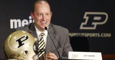 Purdue picks Brohm to reclaim football success