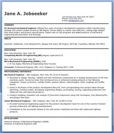 experienced mechanical engineer resume samples - Template