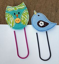 In The Hoop :: Paperclip Embellishments - Embroidery Garden In the Hoop Machine Embroidery Designs