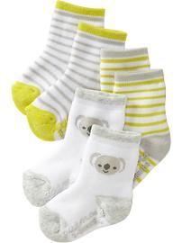 Sock 3-Packs for Baby