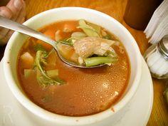 (Zona Rosa, Mexico City, Mexico DF) Yug Vegetariano: #Vegan Pancita de Setas Soup (Tummy Mushrooms Soup)