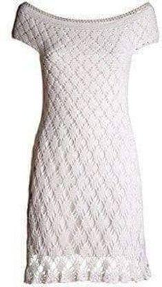 Ravelry: Vestido de festa pattern by Lili BiancardiVestido blanco a crochet 7 by gown hand-made to the beachVeronica crochet y tricot. Mode Crochet, Crochet Lace, Clothing Patterns, Dress Patterns, Crochet Wedding Dresses, Crochet Dresses, Crochet Woman, Beautiful Crochet, Crochet Clothes