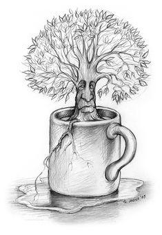 Cup-O-Tree by Greg Joens
