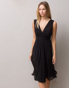 Robe noire taille empire Loulou