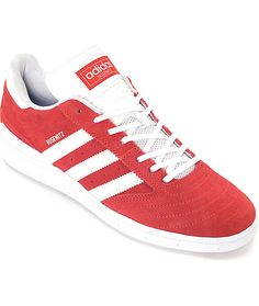 official photos 89763 e0789 Adidas Busenitz Scarlet Red White Size 10.5 BB8432 New With Box  adidas   AthleticSneakers Adidas