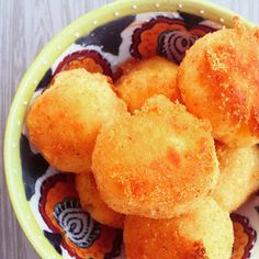 Crispy Baked Polenta Bites Soft on the inside and crunchy on the outside, vegan and gluten free