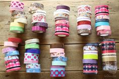 I love these tapes ... wanna have them in all colors and patterns and stuff :)
