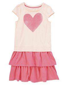 Glitter Heart Ruffle Dress from Crazy8 on Catalog Spree, my personal digital mall.