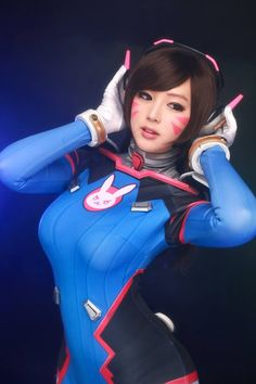 OVERWATCH D.VA by SpiralCats on DeviantArt