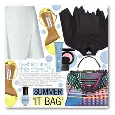 """Summer ""It Bag"""" by pokadoll ❤ liked on Polyvore"