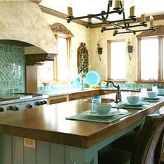 Transitional (Eclectic) Kitchen by Jean Stoffer