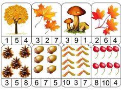 🍂ОСЕННЯЯ МАТЕМАТИКА: посчитай и выбери правильный ответ   OK.RU Fall Arts And Crafts, Autumn Crafts, Autumn Art, Autumn Theme, Fall Preschool Activities, Preschool Math, Kindergarten Math, Toddler Activities, Tree Study